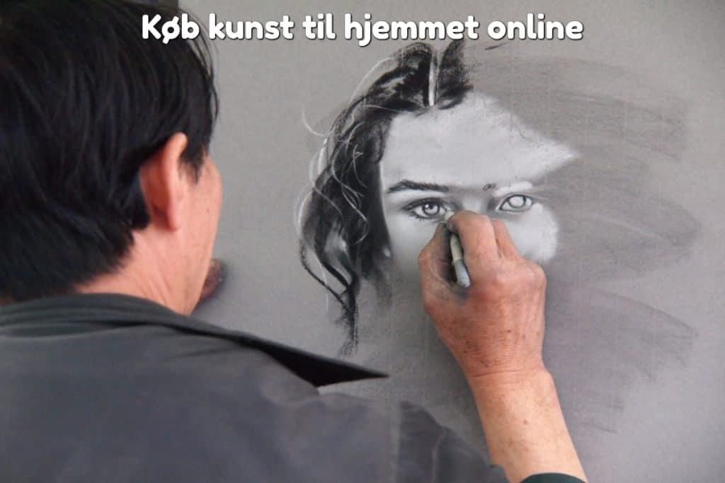 Køb kunst til hjemmet online