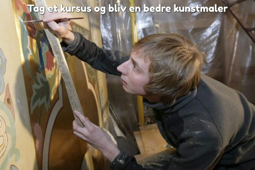 Tag et kursus og bliv en bedre kunstmaler